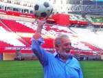 Встречайте Пласидо Доминго на стадионе