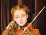 Юная россиянка стала лауреатом конкурса скрипачей в Италии