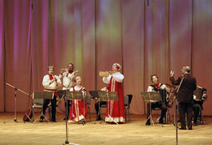 Finist Balalayka is a wonderful example of Russian folk musical art,